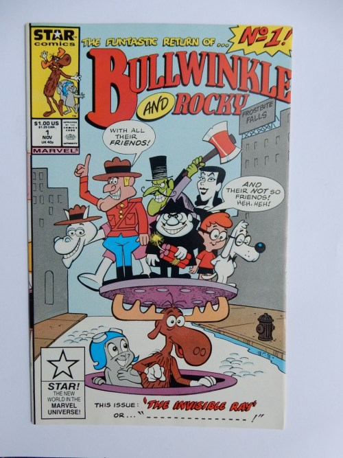 Bullwinkle and Rocky #1