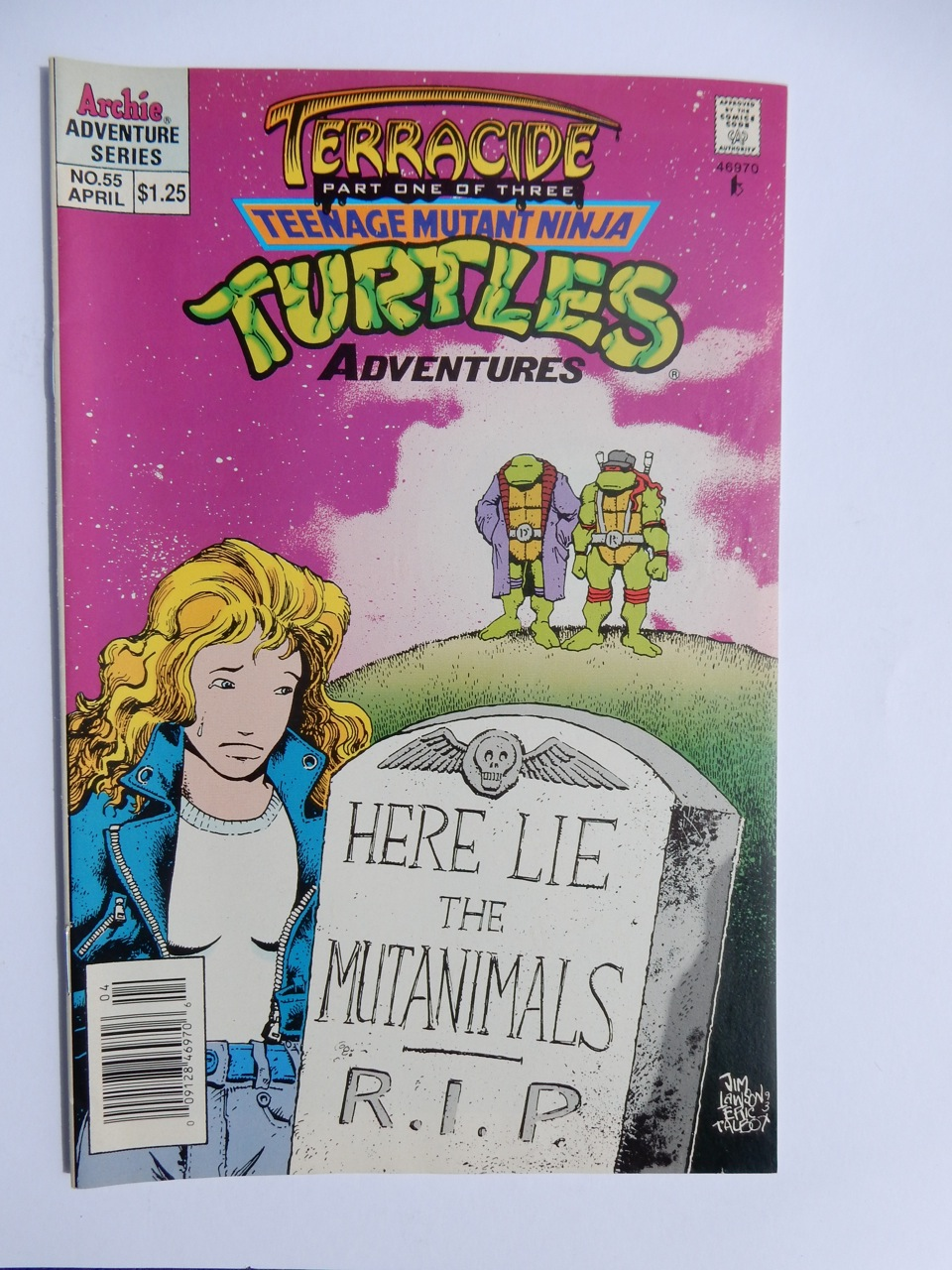 Teenage Mutant Ninja Turtles Adventures #55