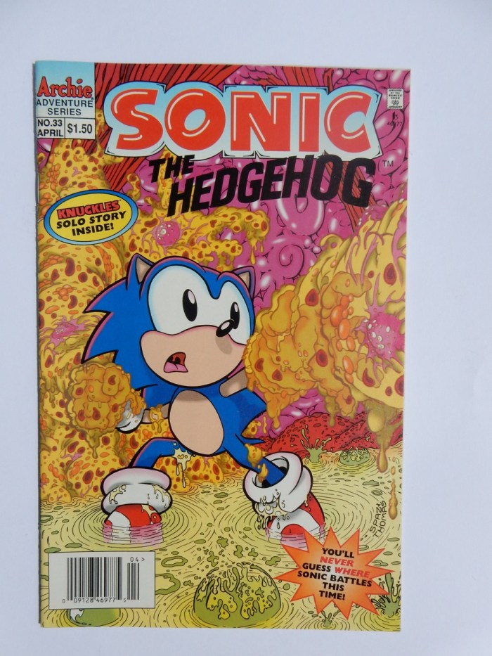 Sonic The Hedgehog #33
