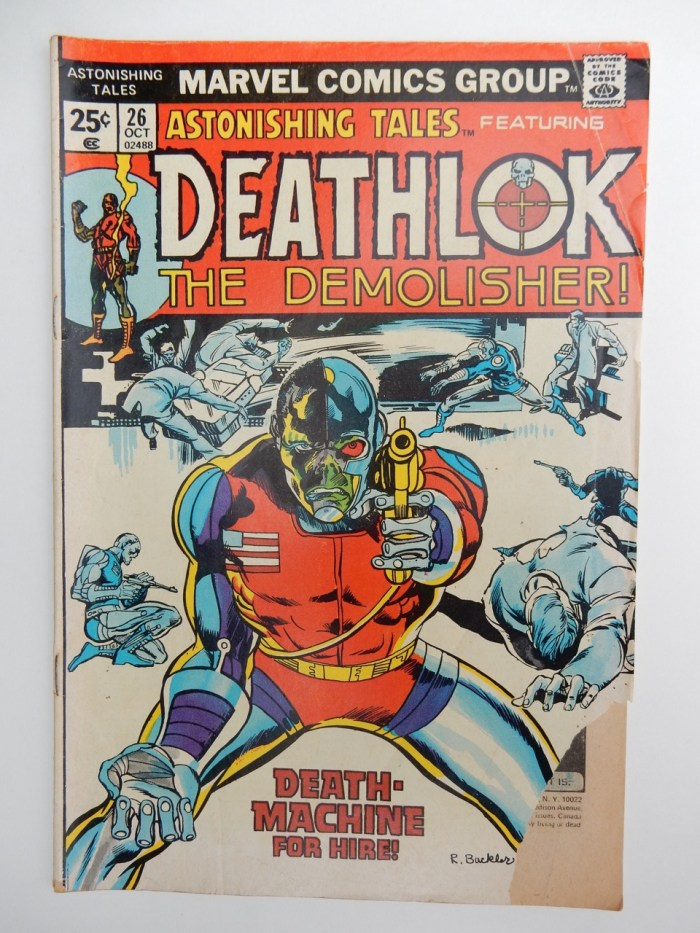 Astonishing Tales #26 Deathlok The Demolisher