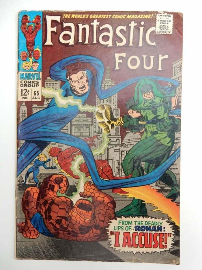 Fantastic Four #65