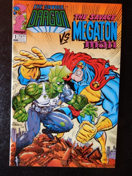 Savage Dragon vs Megaton Man #1