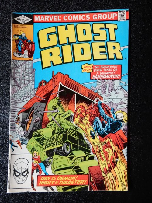 Ghost Rider #69 - Bulldozer Earthmover