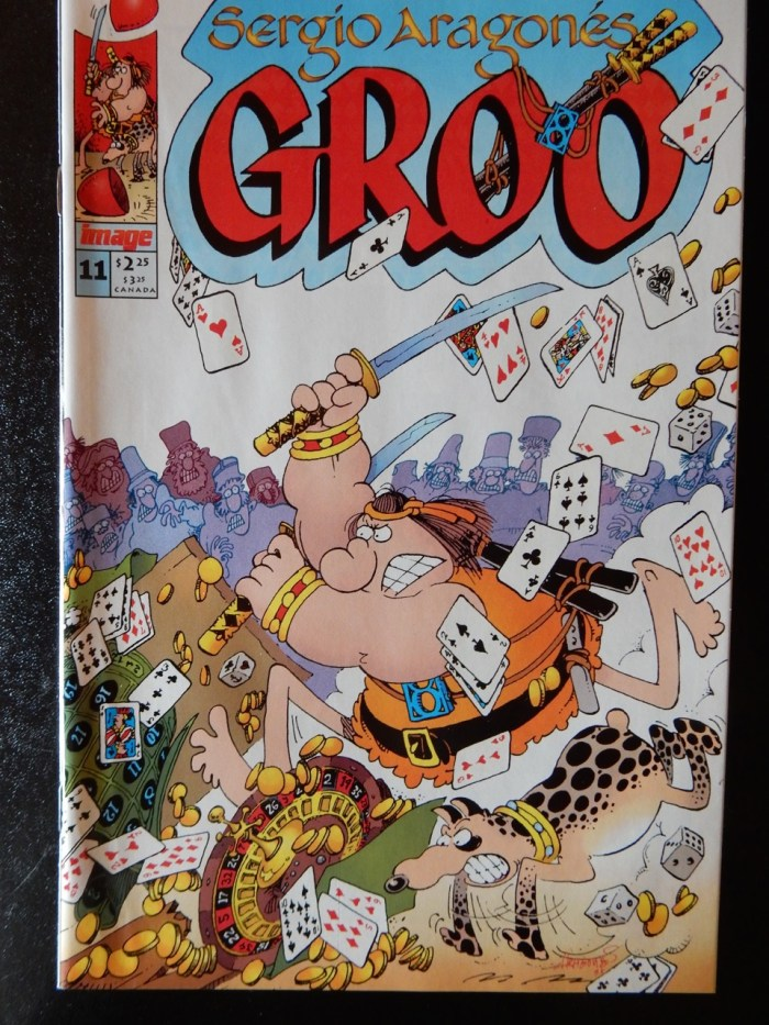 Groo #11 Comic Book by by Sergio Aragonés
