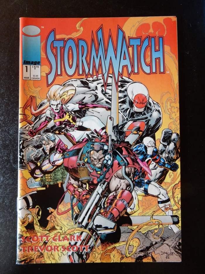 Stormwatch #1 by Scott Clark and Trevor Scott