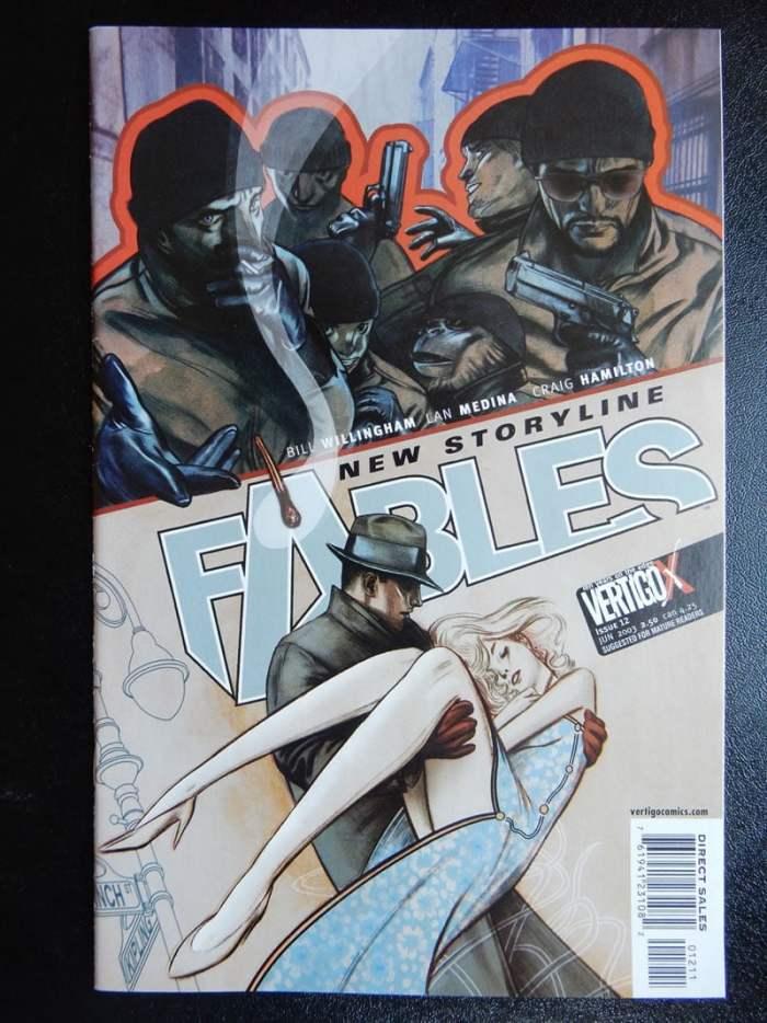 Fables #12 - Sleeping Beauty - Vertigo Comics