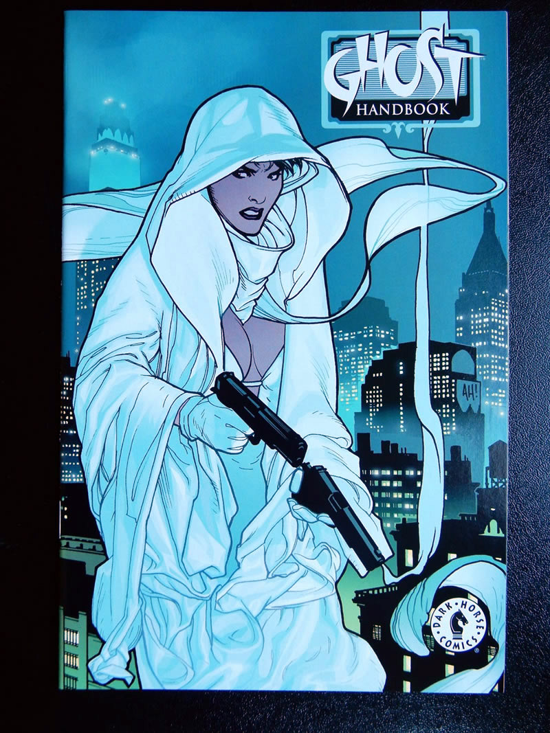 Ghost Handbook - with cover art by Adam Hughes