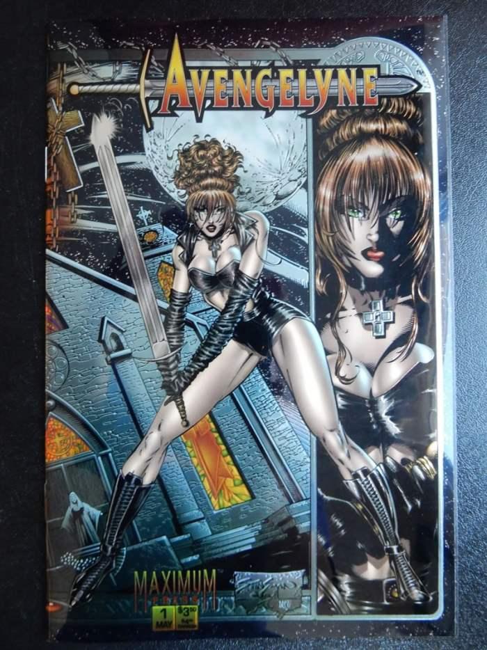 Avengelyne #1 - Chromium Cover 1995 Maximum Comics
