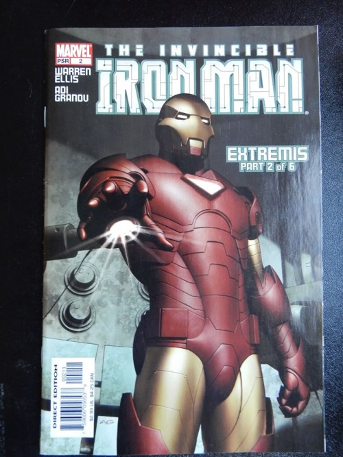 Iron Man: Extremis #2 by Adi Granov and Warren Ellis