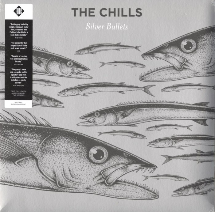 The Chills - Silver Bullets - Vinyl, LP, Fire Records, 2015