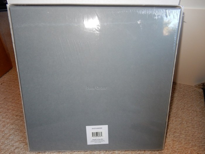 New Order Music Complete Box Set