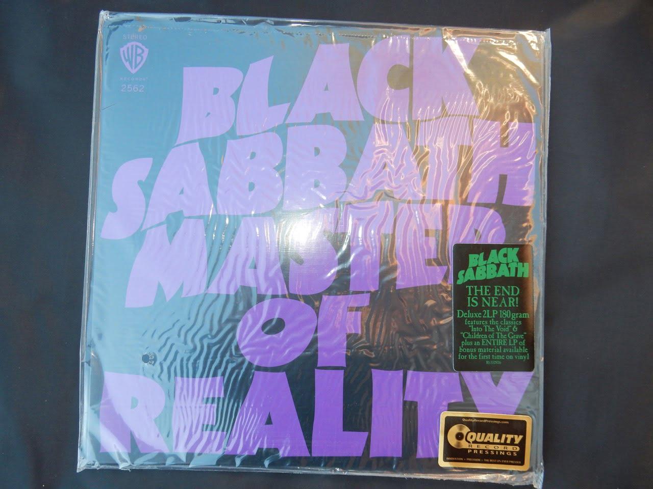"""Black Sabbath """"Master Of Reality"""" 180 Gram 2XLP Reissue"""