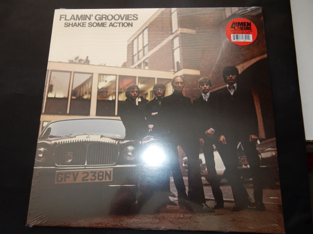 """Flamin Groovies """"Shake Some Action"""" Colored Vinyl"""