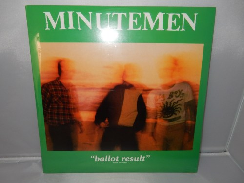 "Minutemen ""Ballot Results"" 2XLP Gatefold NEW Reissue"