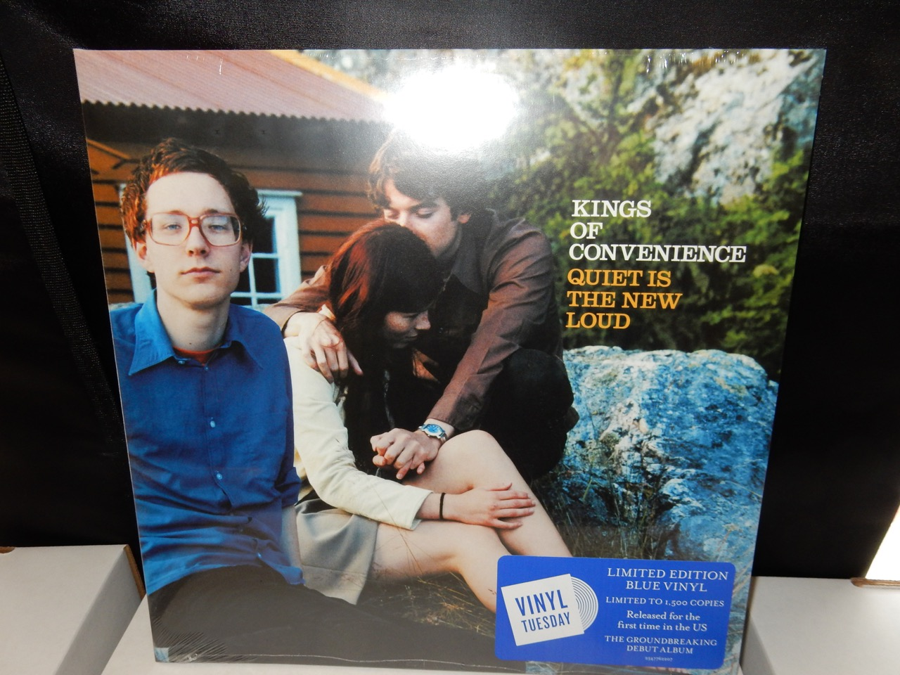 """Kings of Convenience """"Quiet Is the New Loud"""" Limited 140gm Vinyl LP"""