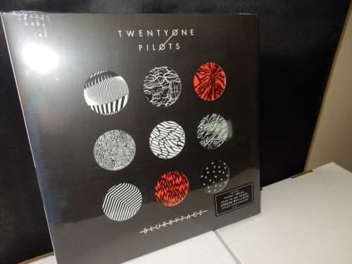 "Twenty One Pilots ""Blurryface"" Ltd Ed 2XLP Die-cut Splatter Colored Vinyl"
