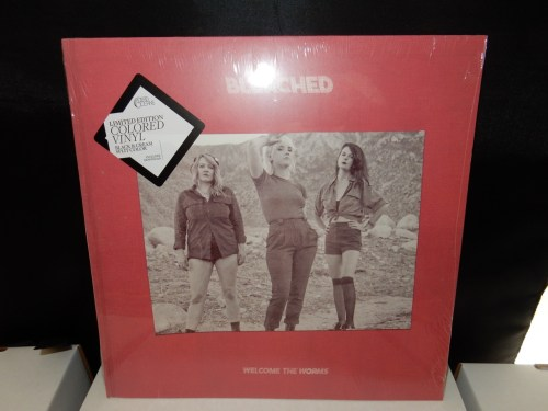 "Bleached ""Welcome To The Worms"" Colored Vinyl LP"