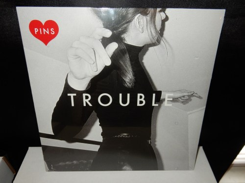 """PINS """"Trouble"""" 10"""" Red Colored Vinyl EP RSD 2016 UK Ltd Ed"""
