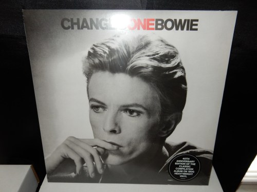 "David Bowie ""ChangesOneBowie"" Greatest Hits 180 Gram 2016 Reissue"