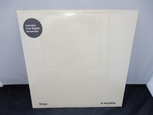 "Greys ""If Anything"" Grey Marbled Colored Vinyl LP with Textured Sleeve"