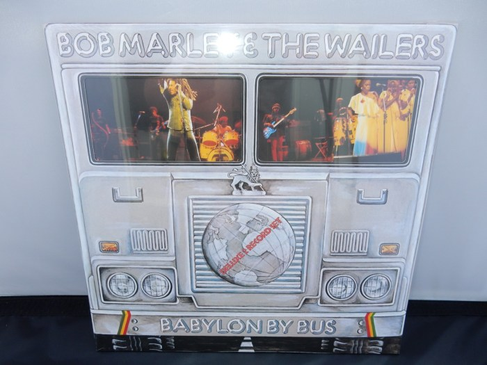 "Bob Marley & The Wailers ""Babylon By Bus"" 2XLP Deluxe Edition 180 Gram Vinyl"