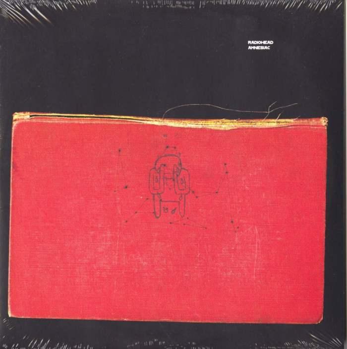 "Radiohead ""Amnesiac"" 2XLP 12″ 180 Gram Vinyl Reissue XL Recordings 2016"