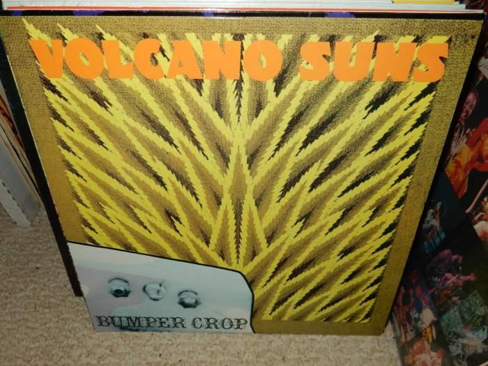 """Volcano Suns """"Bumper Crop"""" Vinyl LP 1987 Homestead Records"""