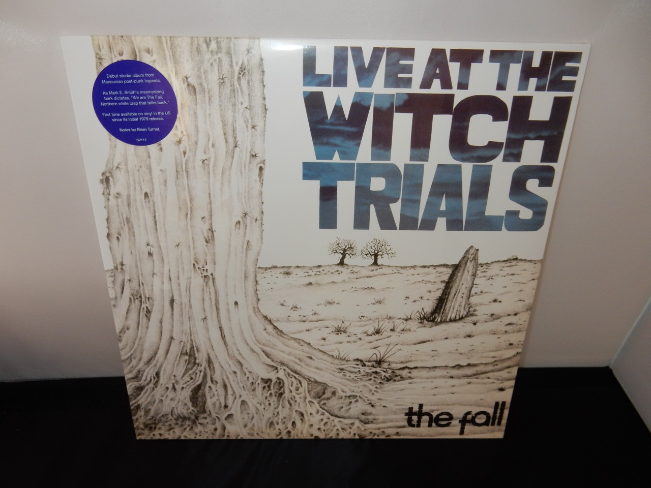 """Fall (The) """"Live At The Witch Trials"""" 2016 Vinyl LP 1979 Reissue on Superior Viaduct"""