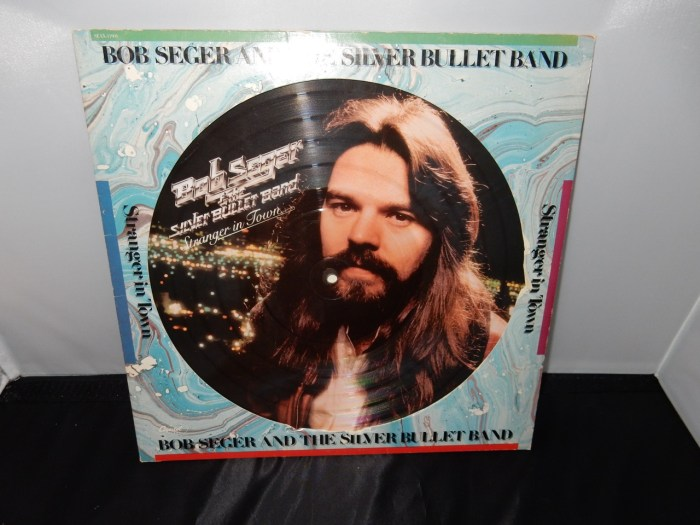 "Bob Seger & The Silver Bullet Band ""Stranger In Town"" Picture Disc 1978 Vinyl LP"