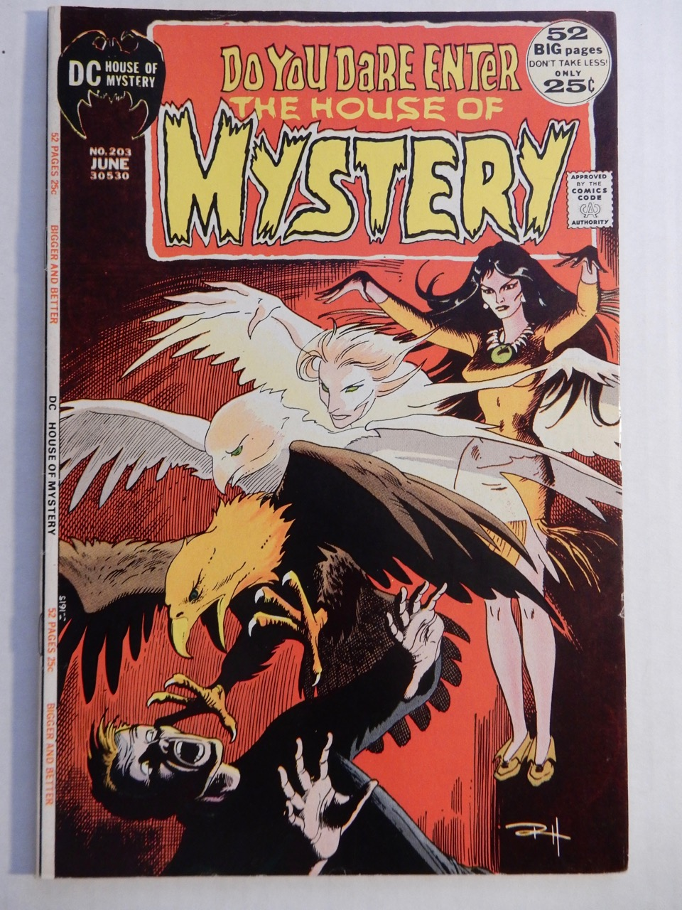 House of Mystery #203 1972 DC Russ Heath, Nick Cardy, Ernie Chan BRONZE AGE Comic