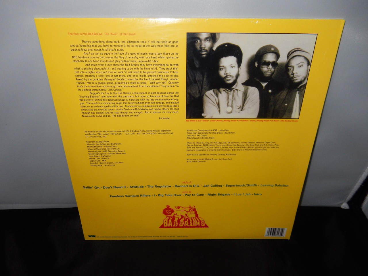 Bad Brains Quot Bad Brains Quot 2005 Reissue Of 1982 First Record