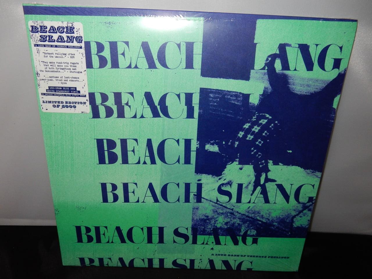 "Beach Slang ""A Loud Bash Of Teenage Feelings"" White Starburst & Reflex Blue Vinyl"