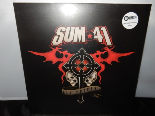 "Sum 41 ""13 Voices"" Vinyl LP Canadian Punk Rock 2016"