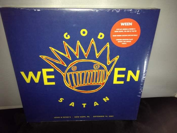 """Ween """"GODWEENSATAN: Live"""" Ato Records 2016 NEW"""