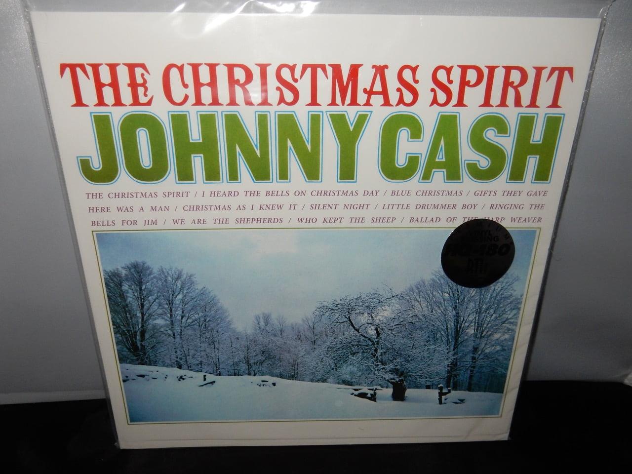Johnny Cash I Heard The Bells On Christmas Day.Johnny Cash The Christmas Spirit Ltd Ed Red Colored 180g Vinyl New