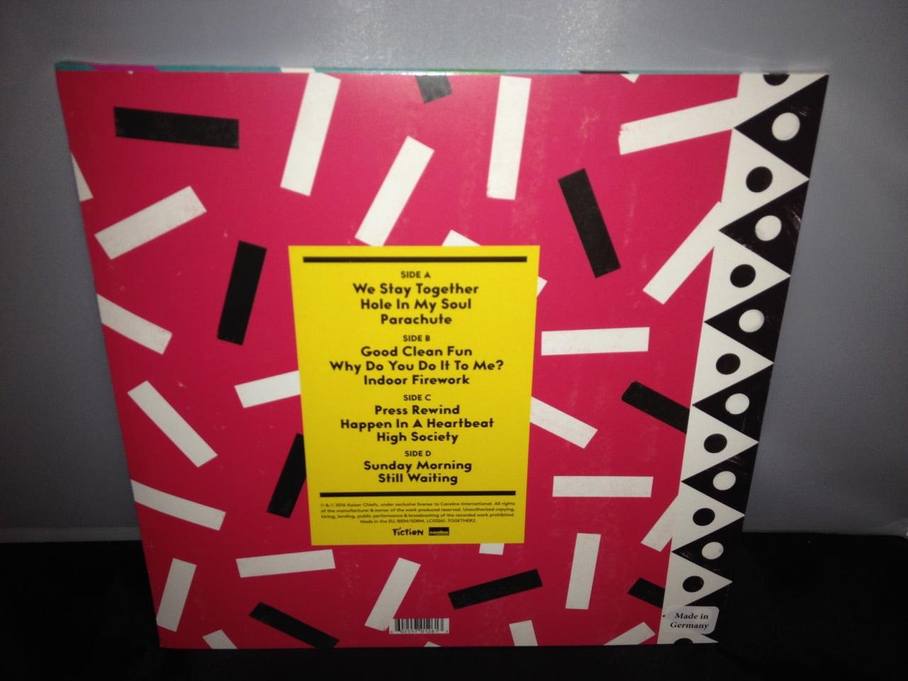 "Kaiser Chiefs ""Stay Together"" Limited Edition 2XLP 180 Gram Vinyl"