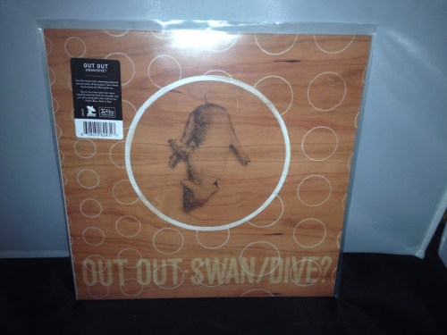 "Out Out ""Swan/Dive?"" Vinyl LP Industrial Electronic Rock, new 2016"