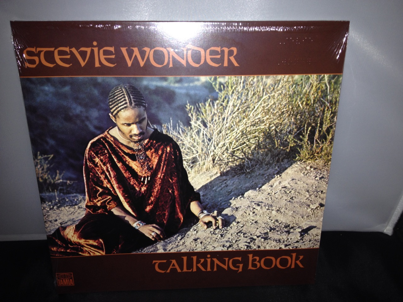 "Stevie Wonder ""Talking Book"" 2016 Limited Vinyl LP with Braille Inscriptions"