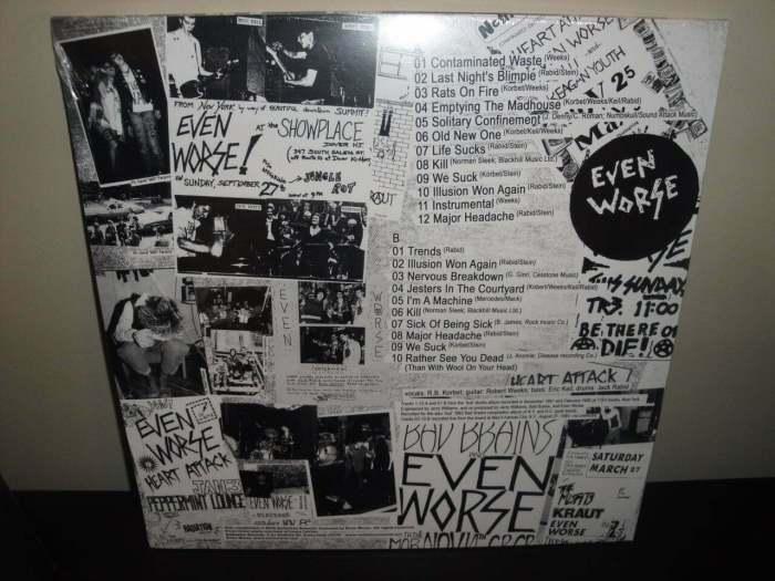 """Even Worse """"We Suck!"""" 2017 180 Gram Limited Edition Vinyl LP"""