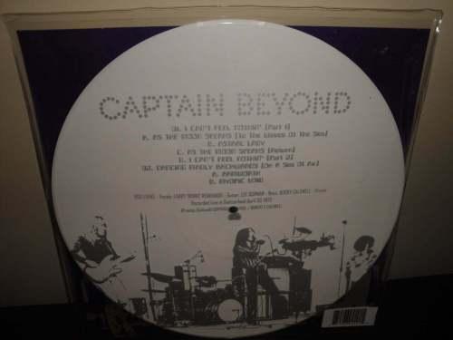 "Captain Beyond ""04.30.72"" Limited Etched White Colored Vinyl LP"