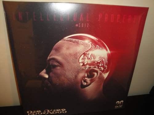 "Ras Kass ""Intellectual Property"" 2XLP Double Vinyl LP 2017 Limited Pressing"