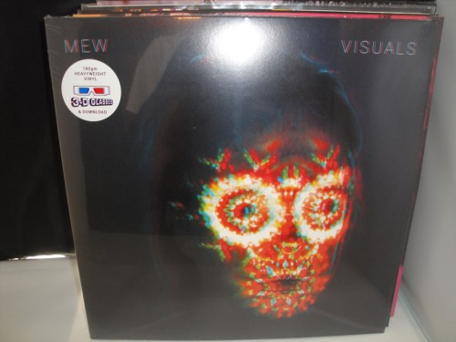 Mew - Visuals - Limited Edition Vinyl with 3-D Glasses 2017