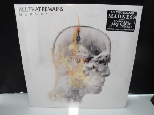 All That Remains - Madness - 2XLP Double Vinyl LP 2017