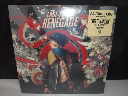 All Time Low - Last Young Renegade - 2017 Vinyl LP