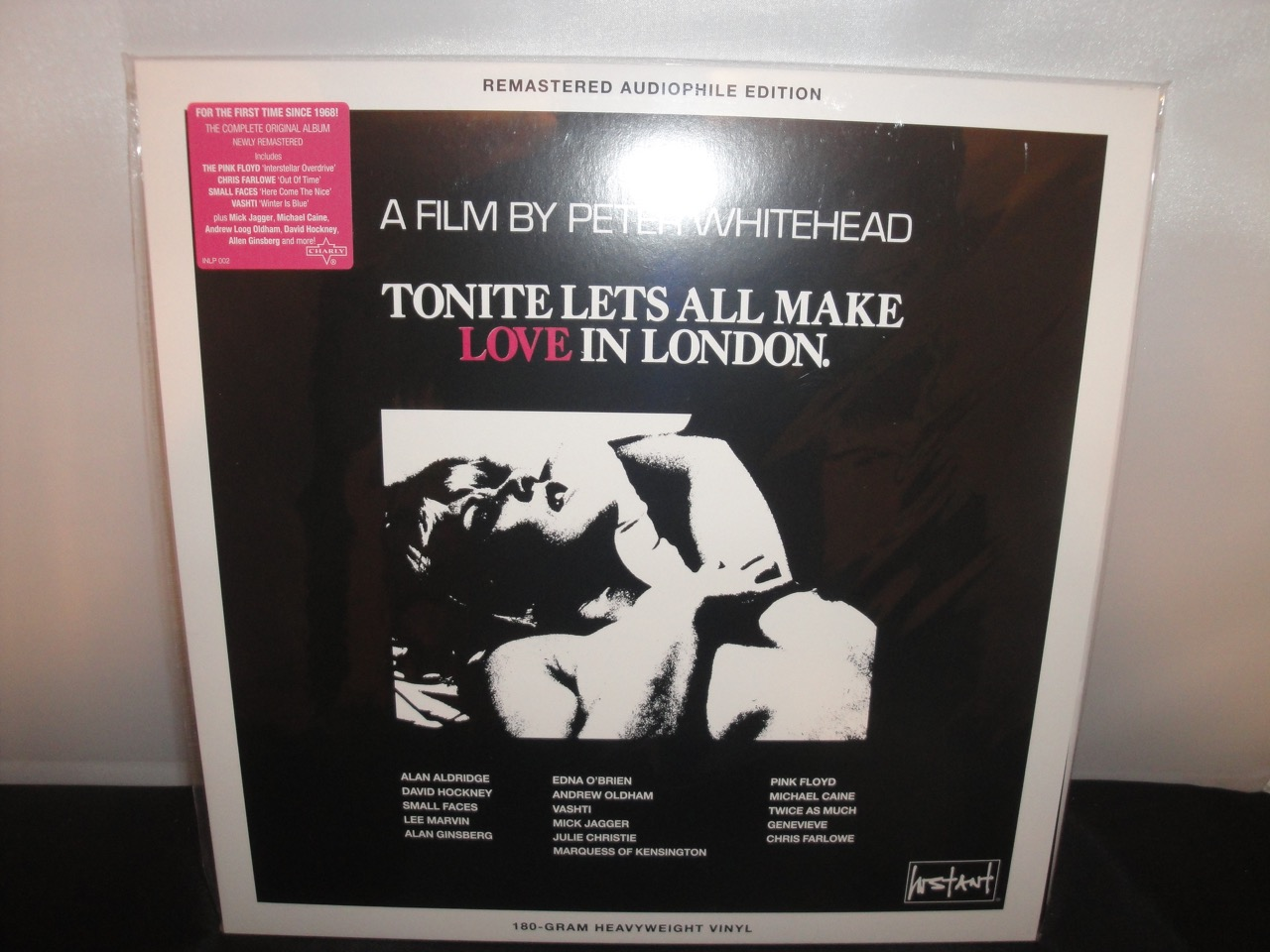 Tonite Let's All Make Love in London - Original Soundtrack (Vinyl, 2017 Reissue)