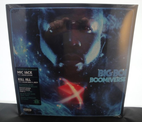 Big Boi - Boomiverse [Explicit Content] - Blue and White Colored 2XLP, Vinyl