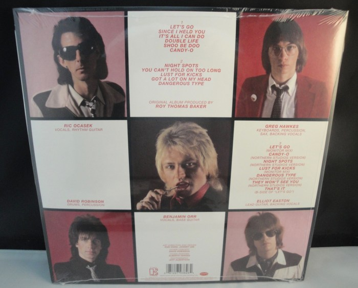 The Cars - Candy-O - Expanded Edition, 2XLP, Vinyl, Remastered, 2017