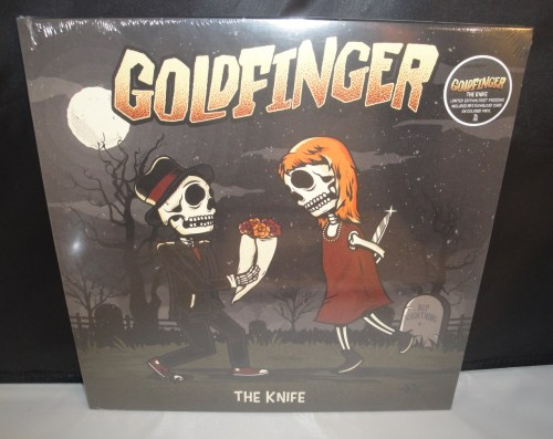 Goldfinger - The Knife - 2017 Vinyl LP, Colored Vinyl w Download
