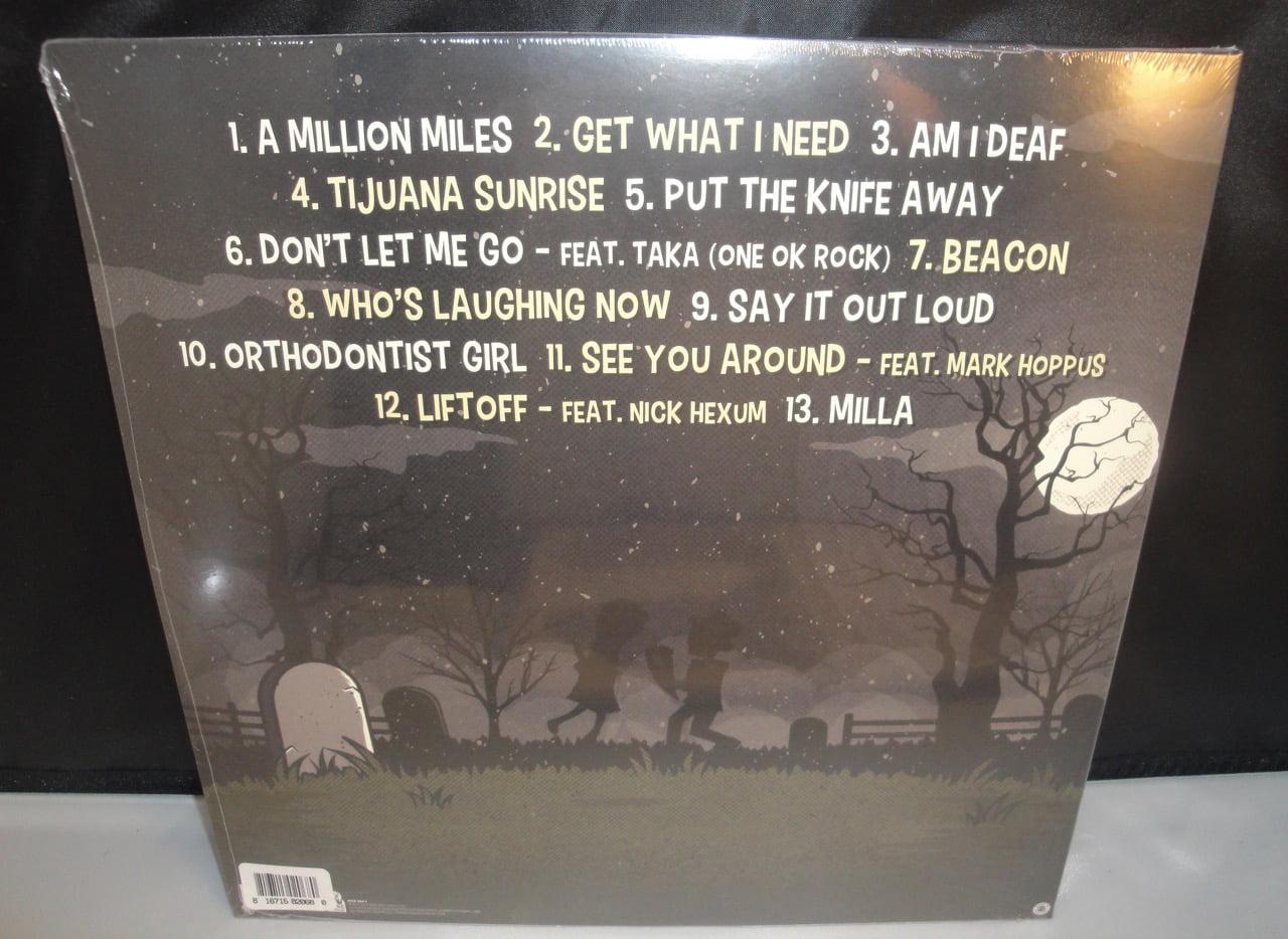 Goldfinger - The Knife - 2017 Vinyl LP, Colored Vinyl w Download