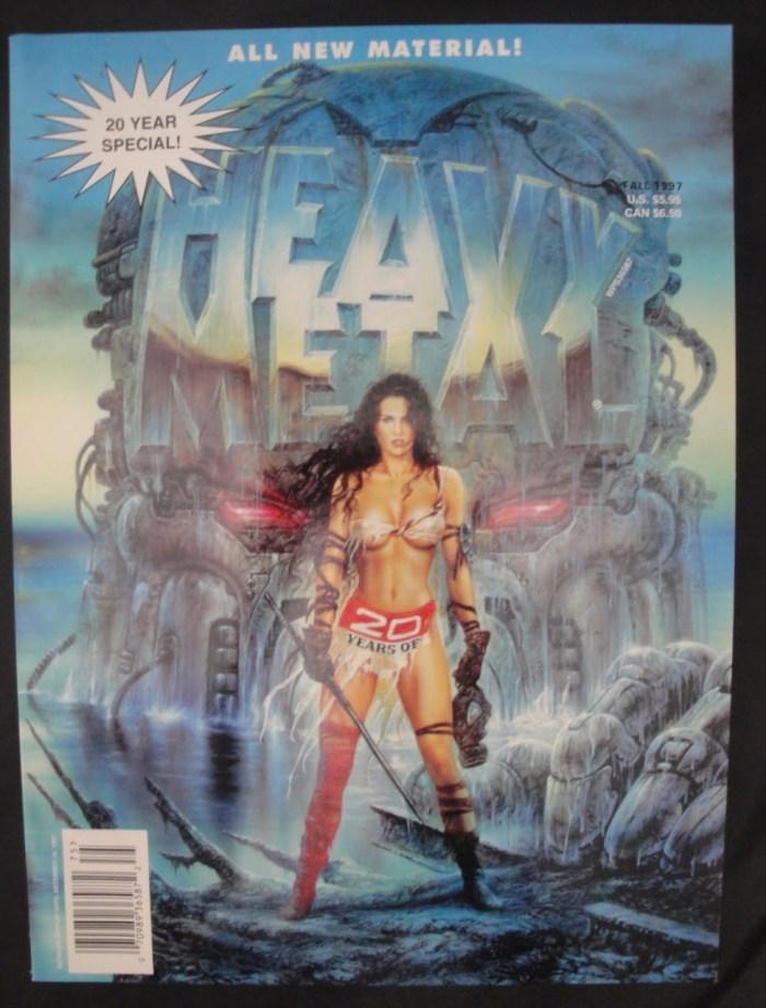 Heavy Metal - 20 Year Special Issue - 1997 Olivia, Corben, Boris, more